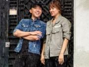 Làng sao - Hari Won nhắng nhít bên người yêu Trấn Thành
