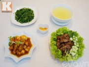 Bếp Eva - Bữa cơm 3 món hấp dẫn cả nhà