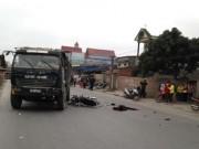 Tin tức - Chở 2 nữ sinh lớp 9 đi học về bị tai nạn, 3 người tử vong