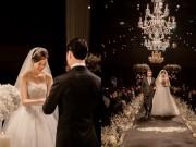 Làng sao - Rò rỉ hình ảnh hiếm hoi trong đám cưới Kim Ha Neul