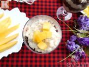 Bếp Eva - Chè đậu đỏ yến mạch mát bổ cho mùa hè