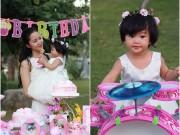 Phan Thị Lý làm tiệc thôi nôi ngọt ngào cho con gái