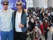 """Trọng Hiếu, Huy Tuấn """"choáng"""" vì thí sinh VN Idol quá đông"""