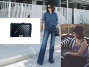 Thời trang - Tăng Thanh Hà hút chặt mọi ánh nhìn với cây denim