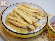 Bếp Eva - Cách làm khoai lang lắc phô mai chỉ vài bước đơn giản
