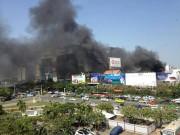 Tin tức - Cháy ở gần sân bay Tân Sơn Nhất