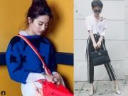 """Thời trang - Tóc Tiên đụng túi 75 triệu với """"thần tiên tỷ tỷ"""" Lưu Diệc Phi"""