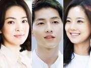 """4 """"người tình"""" nổi bật trước Song Hye Kyo của Song Joong Ki"""