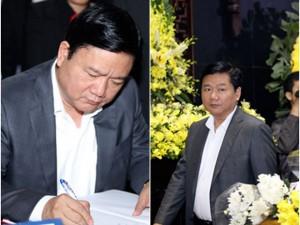 Bí thư Đinh La Thăng đến viếng NS Trần Lập