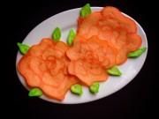 Món ngon nhà mình - Bánh pancake hình hoa hồng tặng mẹ - MN22406