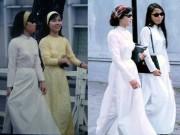 Thời trang - Nao lòng trước tà áo dài của phụ nữ Sài Gòn xưa
