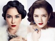 Làm đẹp - Top 10 mỹ nhân Việt đẹp kiêu kỳ với tóc uốn cổ điển