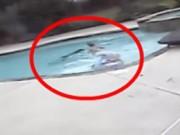 """Video: """"Nghẹt thở"""" bé gái 5 tuổi cứu mẹ khỏi chết đuối"""