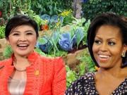 Nhà đẹp - Vườn rau xanh của nữ chính khách tài sắc vẹn toàn