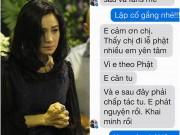Rơi nước mắt trước tin nhắn cuối cùng Trần Lập gửi Thanh Lam