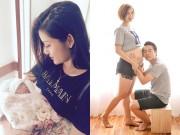 Làng sao - Á hậu Huyền My làm mẹ đỡ đầu cho con của cặp đôi kín tiếng showbiz
