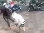 Tin tức - HN: Bà bầu 4 tháng bị hành hung, đạp vào bụng giữa phố