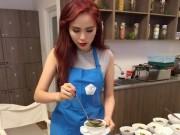 Làng sao - HH Diễm Hương nấu ăn giỏi từ khi có con