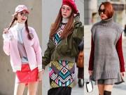 Thời trang - Street style đầy màu sắc của Minh Hằng tại Hàn Quốc
