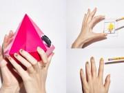 Vẽ nail cực thời trang với bộ cảm xúc trên mạng xã hội