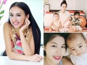 Bà bầu - Chiêu cho con bú không lo hỏng ngực của mỹ nhân Việt