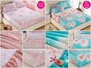 Nhà đẹp - Ga trải giường chun đẹp, giá rẻ cho mùa hè