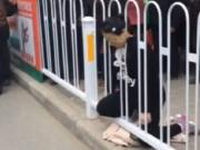 Tin tức - Thai phụ TQ tử vong do kẹt đầu vào hàng rào chắn an ninh