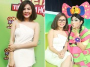 Làng sao - Vân Trang đang nghén vẫn chạy show nhiệt tình
