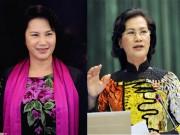 Thời trang - BST áo dài đẹp mắt của Chủ tịch QH Nguyễn Thị Kim Ngân