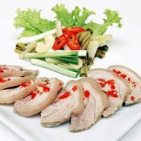 Thịt heo ngâm giấm rất ngon và lạ