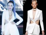 Thời trang - Angela Phương Trinh lại gây xôn xao với 'váy nhái'