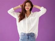 Thời trang - Chọn đồ lót để ghi điểm 10 với áo sơ mi trắng