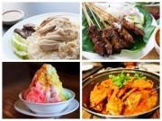 10 món ăn ngon nổi tiếng ở Singapore