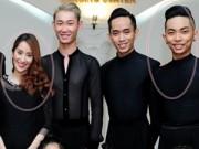Làng sao - Khánh Thi - Phan Hiển né tránh đứng cạnh nhau