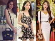 Thời trang - BST túi xách hàng hiệu đến bình dân của Hương Giang Idol