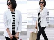 """Thời trang - Mặc áo blazer mùa hè """"chất"""" như sao Hàn"""