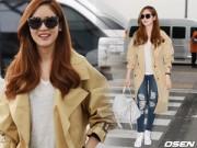 """Làng sao - """"Nữ hoàng tuyết"""" Sung Yuri tươi rói sau tin kết hôn"""