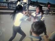 Tin tức - Kỷ luật 9 học sinh cổ vũ 2 bạn nữ lớp 6 đánh nhau