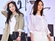 Seohyun (SNSD)  & quot;đọ sắc & quot; cùng cựu Á hậu Quốc tế