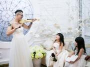 Làm mẹ - Gặp bố đơn thân gây xúc động khi mặc váy cưới vì con