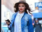 Thời trang - Chẳng mấy ai mặc denim đẹp như Miranda Kerr