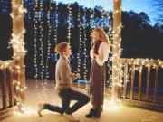 Những màn cầu hôn lãng mạn làm tan chảy bao trái tim