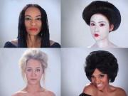 Làm đẹp - Lịch sử trang điểm của phụ nữ từ cổ chí kim