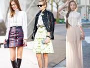 Thời trang - Chọn váy đẹp theo từng chỉ số chiều cao cơ thể
