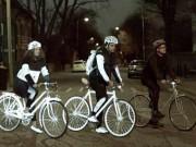 Tin tức - Kỳ lạ xe đạp tự phát sáng ban đêm, giảm TNGT