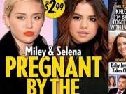 Rộ tin Selena và Miley Cyrus có bầu với Justin Bieber