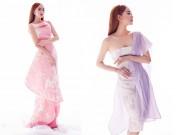 Thời trang - Minh Hằng xinh như hoa với váy màu pastel
