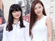 Ha Ji Won lần đầu khoe chị gái trước giới truyền thông
