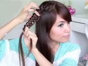 Làm đẹp - Cách làm 3 kiểu tóc tết dễ thương cho cô nàng điệu đà