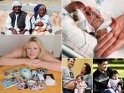 """Bà bầu - Top 10 kỷ lục mang thai gây """"choáng"""" cả thế giới"""